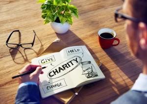 Spenden regelmäßig klein