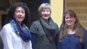 Vorstand: Veronika, Erika und Sibylle