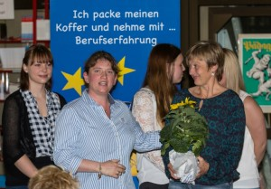 v l Maren Müller Sibylle Meyer Erika Einecke Johanna und Luisa