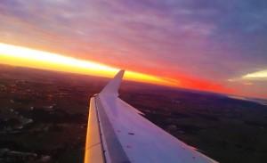 Über den Wolken Richtung Oslo