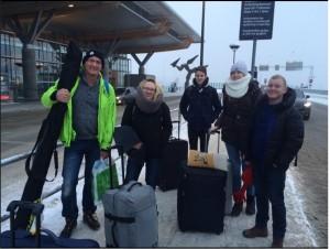 Gruppe in Norwegen