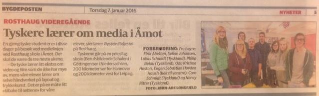Norwegen Zeitung