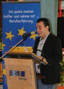 Der Göttinger Integrationsbeauftragte Isa Sandiraz