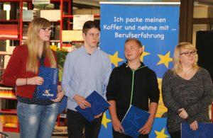 vier Teilnehmer, die in Norwegen waren