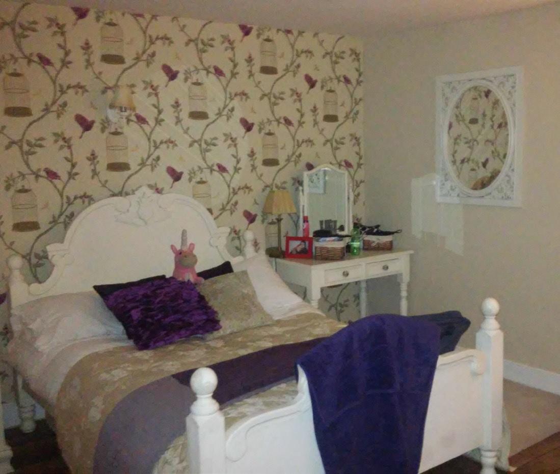 England: liebvoll eingerichtetes Gästezimmer